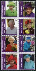 ISLE OF MAN 2015 QUEEN ELIZABETH II THE LONGEST REIGNING BRITISH MONARCH MINT NH