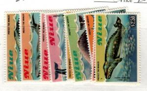 Niue Scott 380-88 Mint NH (Catalog Value $22.20)
