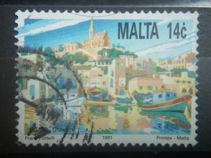MALTA, 1991, used 14c, Tourism, Scott 790