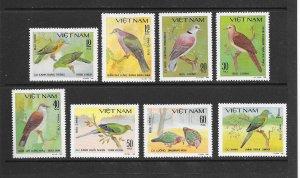 BIRDS - VIETNAM #1124-31  MNH