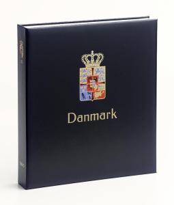 DAVO Luxe Hingless Album Denmark I 1851-1969