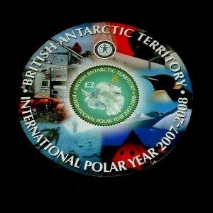 TOPICAL MIXED, 2007, BRITISH ANTARCTIC TERRITORY,POLAR, S/S, LOT #126, MNH, LQQK