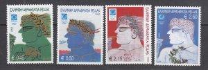 J26326  jlstamps 2002 greece set mnh #2040-3 olympics