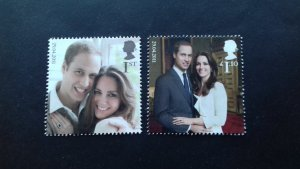 Great Britain 2011 Royal Wedding - Prince William and Catherine Middleton Used