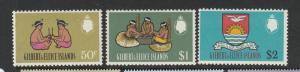 Gilbert & Ellice is 1968 Decimal currency defs top 3 vals MM 50c-$2 SG 147/9