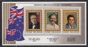 Cook Islands # 879, Prime Ministers, NH, 1/3 Cat