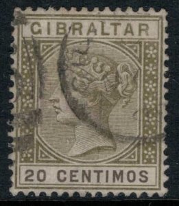 Gibraltar #31A  CV $24.00