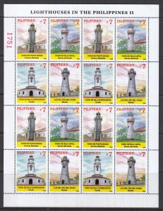 Philippines, Sc 3047, MNH, 2006, Lighthouses