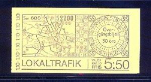 SWEDEN SC# 1224a BOOKLET - MNH