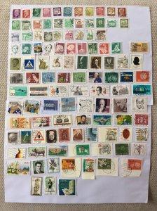 German 100+ stamps - Lot N