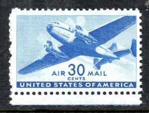 U.S. Scott C30 30-Cent Transport Airmail FVF MNH Margin Single