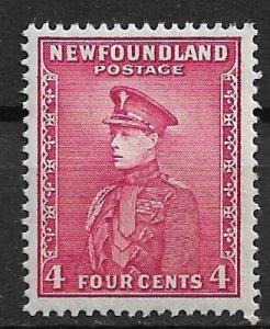 1932 Newfoundland Sc159 Prince of Wales 4¢ MNH