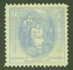 USA Scott 796 MNH** VIRGINIA DARE 1937 STAMP