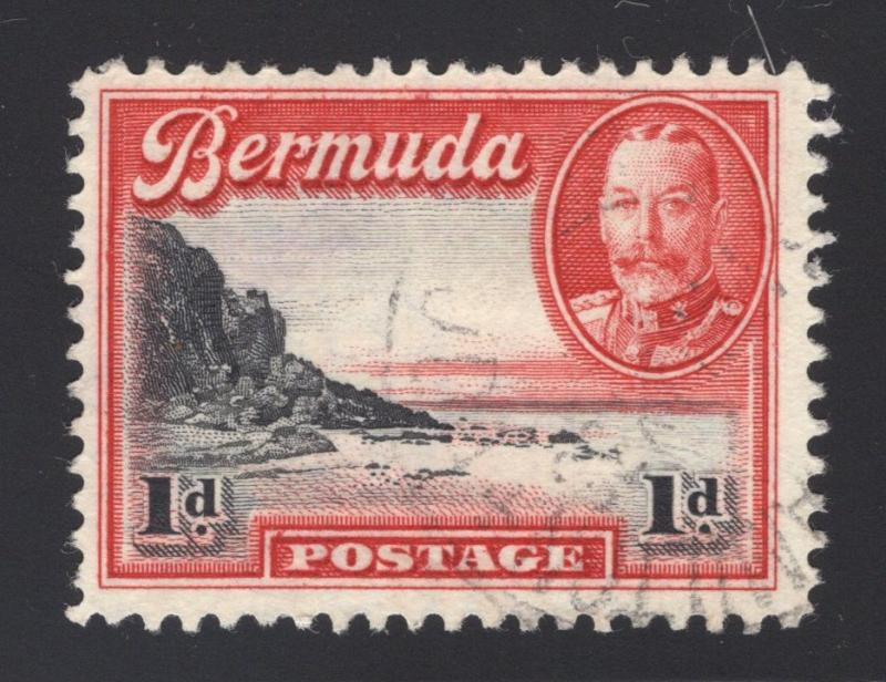 Bermuda #106 Carmine & Black - Light Cancel