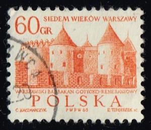 Poland #1338 Barbican Castle; CTO (0.25)