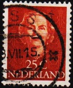 Netherlands. 1949 25c. S.G.690 Fine Used