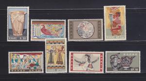 Greece 708-715 Set MH Minoan Art (A)