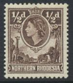 Northern Rhodesia  SG 61  SC# 61 MLH  see detail and scan