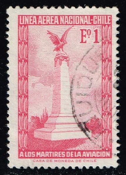 Chile #C262 Aviators' Monument; Used (0.25)