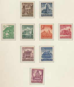 Germany Stamps Scott #B177 To B185, Mint Hinged - Free U.S. Shipping, Free Wo...