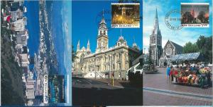 59112 - NEW ZEALAND - POSTAL HISTORY: SET of 5 MAXIMUM CARD 1995 - ARCHITECTURE