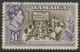 Jamaica SG 133a   Used / FU   SC# 128a  see details