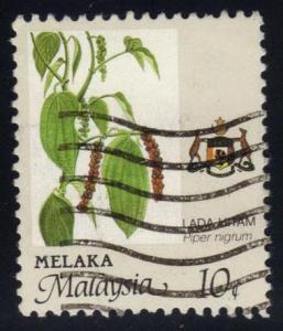 Malaysia-Malacca #91 Piper nigrum Flower, used (0.35)