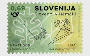 2020 Slovenia Slovenes in Germany  (Scott NA) MNH