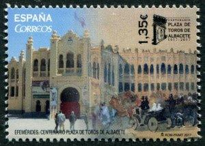 HERRICKSTAMP NEW ISSUES SPAIN Sc.# 4231 Albacete Bullring
