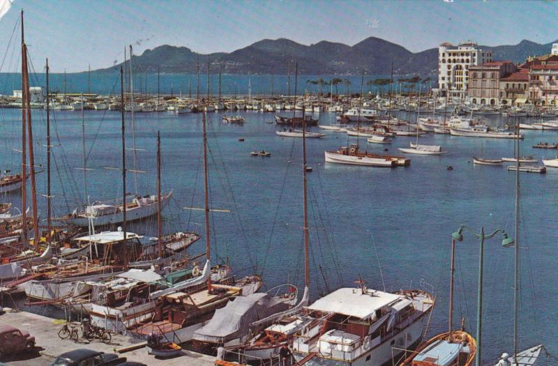 France 1963 Cannes IBM Convention Postcard used VGC