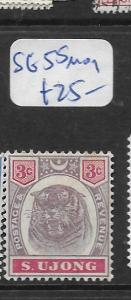 MALAYA SUNGEI UJONG  (P0907B) TIGER   3C  SG 55  MOG