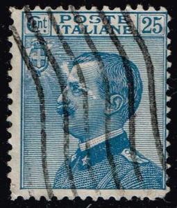 Italy #100 Victor Emmanuel III; Used (0.35)