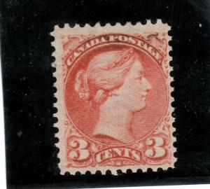Canada #41a Very Fine Mint Full Original Gum Lightly Hinged **With Certificate**
