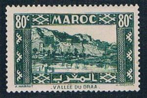 French Morocco 163A MLH Valley of Draa 1939 (F0111)+