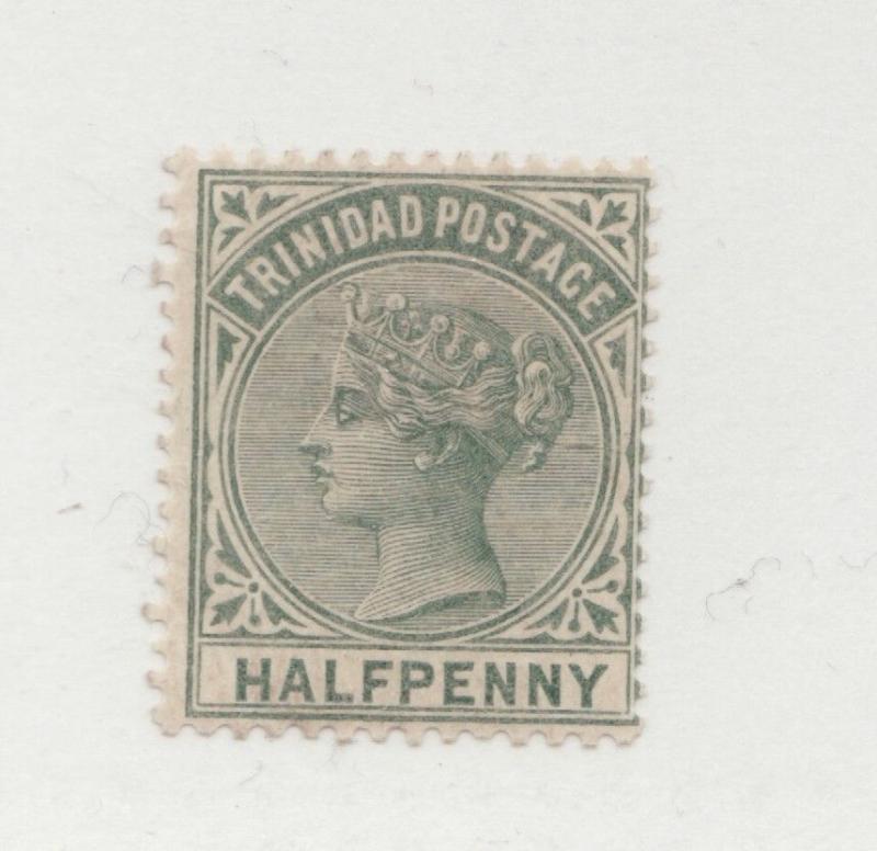 TRINIDAD Scott #68 * Halfpenny MH Victorian postage stamp