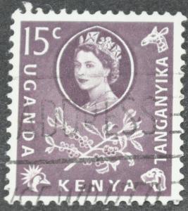 Kenya, Uganda & Tanganyika Scott #122 – USED