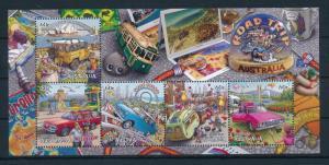 [74551] Australia 2013 Roadtrip Opera House Luna Park Caravan Sheet MNH