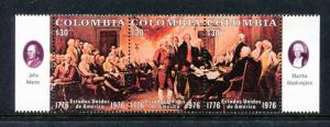 Colombia 846, MNH, Declaration of Independence 1976. x23407
