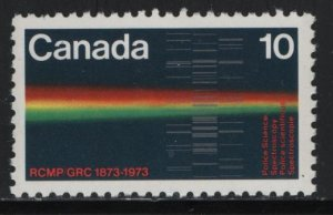 CANADA, 613, MNH, 1973, Royal Mounted Canadian Police Cent.