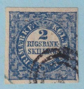 DENMARK 1  USED - NO FAULTS VERY FINE!