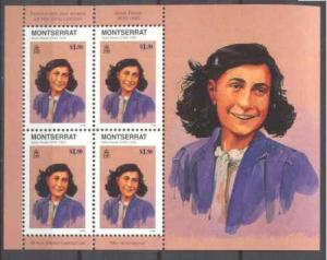 Montserrat 944 MNH m/s Personalites/Jewish chronicler S