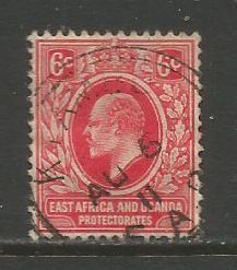 East Africa & Uganda   #33  Used  (1907)