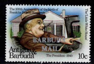BARBUDA Scott 551 MNH** Churchill stamp