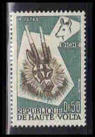 Upper Volta Very Fine MMH ZA6025