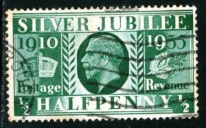 GREAT BRITAIN - SC #226 - USED - 1935 - Item GB187NS3