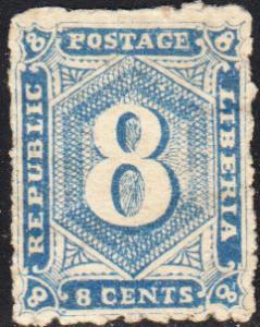 Liberia #22 Unused NG