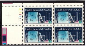 2087 Mint,OG,NH... Plate Block of 4... SCV $2.00