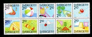 SWEDEN 1739-48 MNH SCV $20.00 BIN $12.00