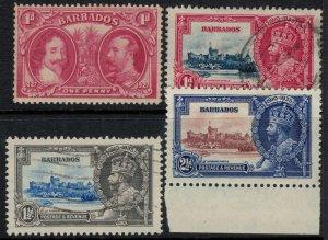 Barbados #180,6-8*/u  CV $12.80