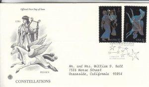 2005, Constellations-Lyra, Pegasus, PCS, FDC (E8956)